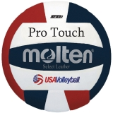 Official volleyball of USA Volleyball, NFHS Approved, Indoor Use, Premium Japanese leather cover, Nylon wound, Official size and weight, 2-year warranty.