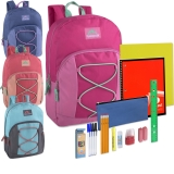 17�� Backpack &  12 Piece School Supply Kit