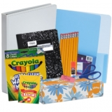 Essential School Supplies Kit For Grades K-2