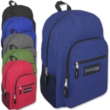 Trailmaker Deluxe 19 Inch Backpack With Padding, Case of 24