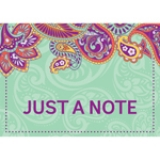 "Positively Paisley Teacher Card, 4"" x 6"", Pack of 36"