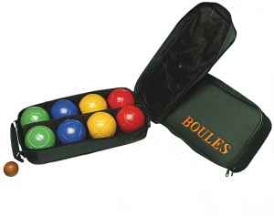 Deluxe Bocce Set, 8 Balls And Bag