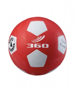 Playground Soccer Ball Size 4, Red