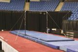 Parallel Bars Upright Pads ONLY, Color Blue