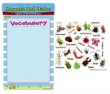 VOCABULARY-INSECTS MAGNET STICKER