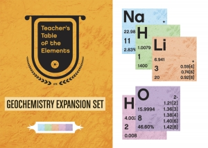 TEACHERS TABLE OF ELEMENTS GEOCHEMISTRY EDITION