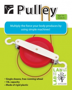 PULLEY SINGLE COLORED RETAIL PACK