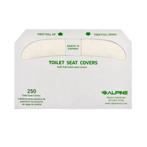 HalfFold Toilet Seat Cover 20 Packs of 250 Covers