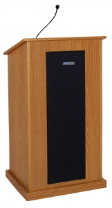 Chancellor Lectern - Wired Sound