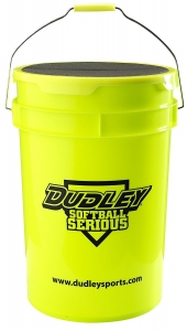 Dudley Softball Bucket with Padded Lid