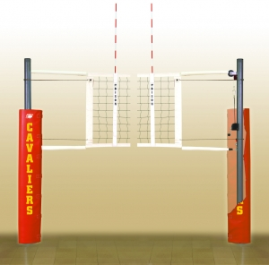 Match Point Aluminum Volleyball System
