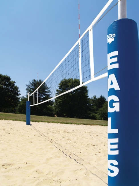 Centerline Side-By-Side Double Court Sand Volleyball System