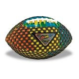 "Fun Gripper 8.5"" Grip Zone Tye-Dye Football"