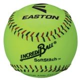Incrediball Neon Softstitch Training Softball, 12""