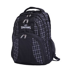 "Spalding Deluxe Backpack, 12.5"" x 6.75"" x 19"""