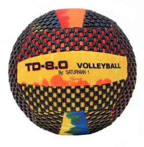 "Fun Gripper 10"" Tye-Dye Volleyball"