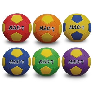 Soft tek soccer ball size 5 set/6