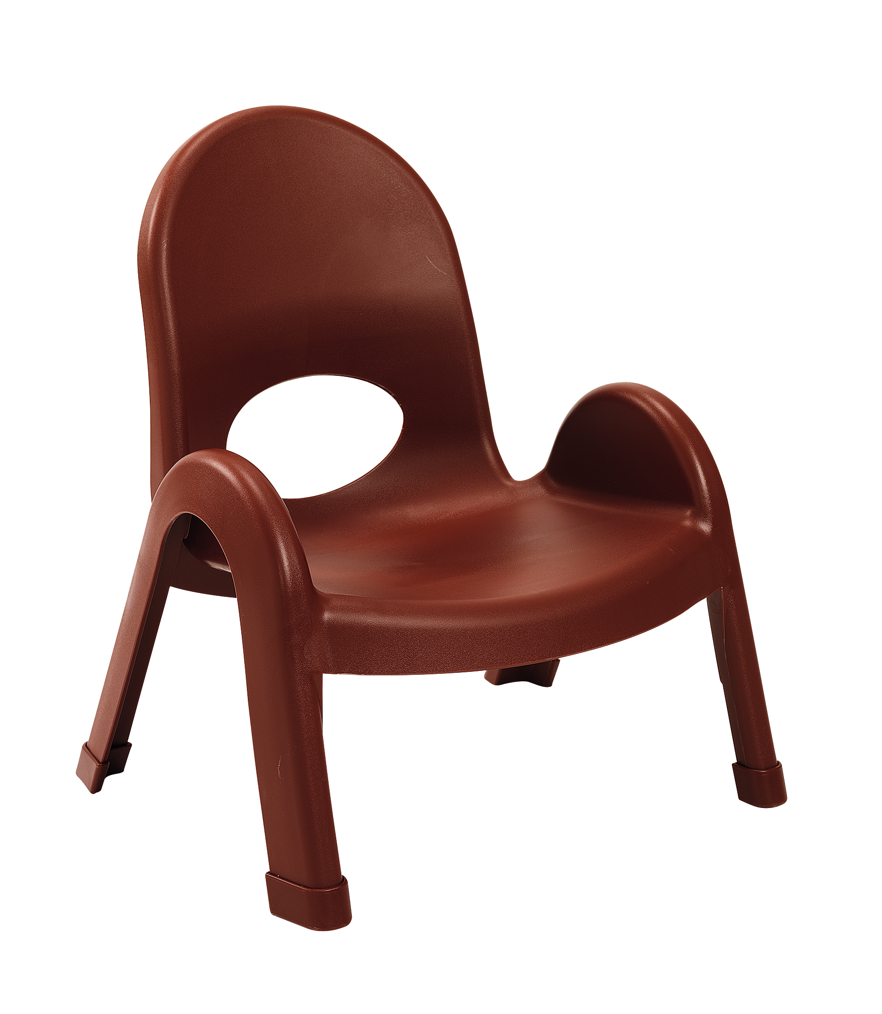 "Angeles 7""Value Stack Chairs - Cocoa"