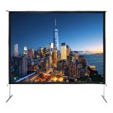"180"" Diag. (108x144) Folding Frame Screen with Case, Video Format, Matte White Fabric"