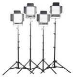 70 Watt Location Kit-Deluxe with Stands Includes 2, SC-70 Softcube & 1, F-70 Fresnel w Hard Case
