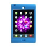 Blue - Silicon Protective carry case for iPad Mini.