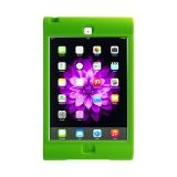 Green - Silicon Protective carry case for iPad Mini.