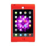 Red - Silicon Protective carry case for iPad Mini.