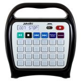 Juke24 - Portable, Digital Jukebox with CD Player and Karaoke Function - Black/Gray
