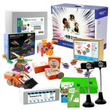 Beginner Skill Level STEAM Starter Pack - Includes: Programmable Robots, Engineering Kits and Media Production Kits