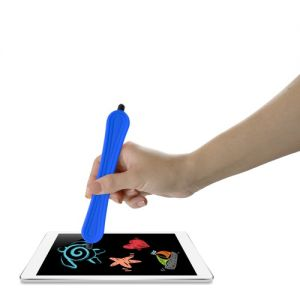 Snap-Scribe Stylus (Blue) - Universal Double-Tipped Stylus Snaps Into a Bracelet