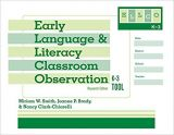 Early Language and Literacy Classroom Observation Tool, K-3 (ELLCO K-3), Research Edition