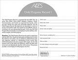 Assessment, Evaluation, and Programming System for Infants and Children (AEPS), Second Edition, Child Progress Record I