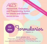 Formas Assessment, Evaluation, and Programming System for Infants and Children (AEPS), Second Edition, CD-ROM