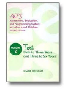 Assessment, Evaluation, and Programming System for Infants and Children (AEPS), Second Edition, Test