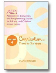 Assessment, Evaluation, and Programming System for Infants and Children (AEPS), Second Edition, Curriculum for Three to Six Years