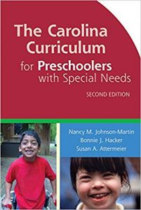 The Carolina Curriculum for Preschoolers with Special Needs (CCPSN), Second Edition