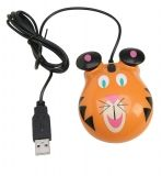 Animal-Themed Computer Mouse - Tiger