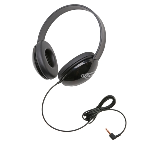 Listening First Stereo Headphone - Black
