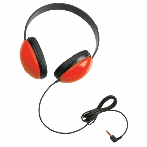 Listening First Stereo Headphone - Red