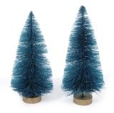 MINI SISAL TREE GREEN 3IN 10PC PKG