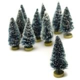 MINI SISAL TREE FROST 3IN 10PC PKG