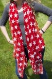 SCARF LARGE STARS 2 ASSORTED