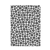 Darice Embossing Folder - Small Daisy Background - 4.25 x 5.75 inches