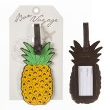 Novelty Yellow & Green Pineapple Luggage Tag