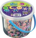 Perler FunFusion Bead Bucket - Glow-in-the-Dark