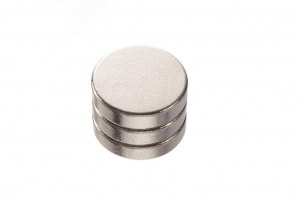 Magnets - Heavy Duty - Round - 12 x 3mm - 3 pieces