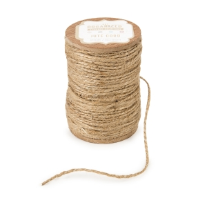 Get Organized Spool of Jute Twine - Natural Cord - 200 feet