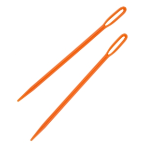 All Things You Plastic Needles: Orange - 2.87 inches - 2 pack