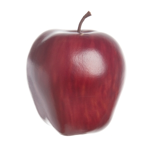EVERYDAY FRUIT APPLE RED DELICIOUS WEIGHTED RED 3IN