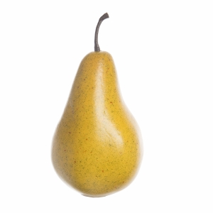Darice Yellow Artificial Pear: 4 inches